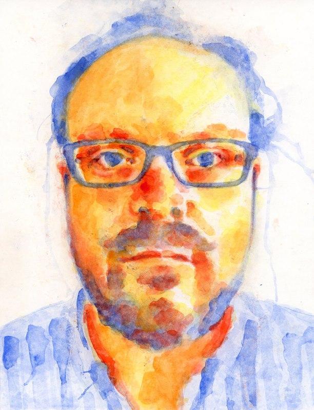 john watercolor