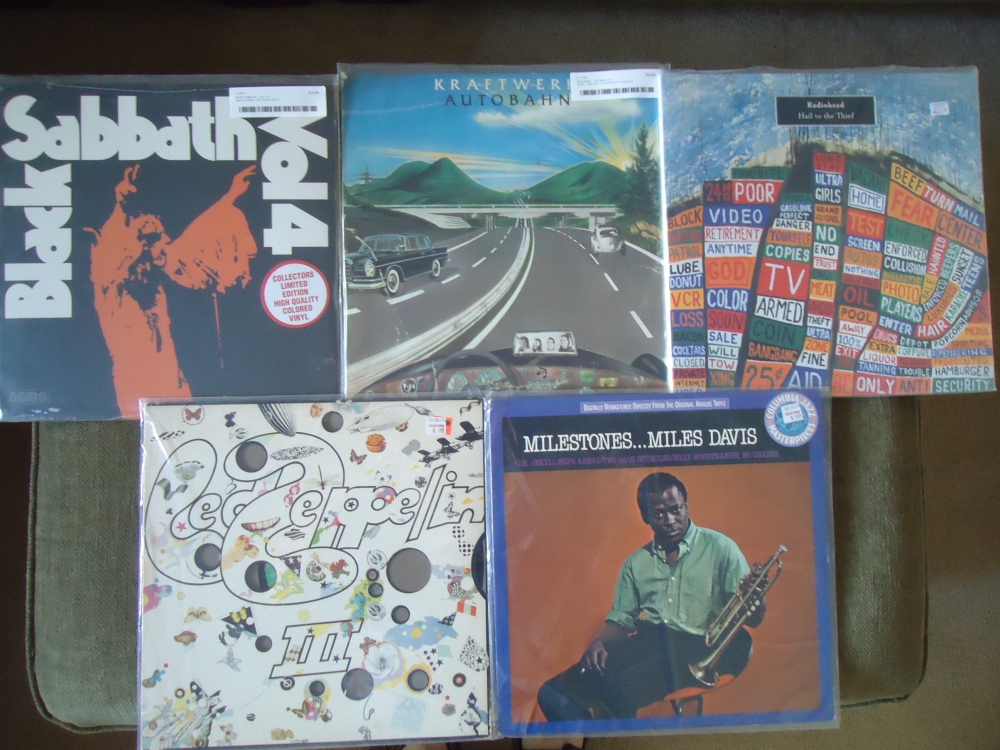 My vinyl haul on July 3rd