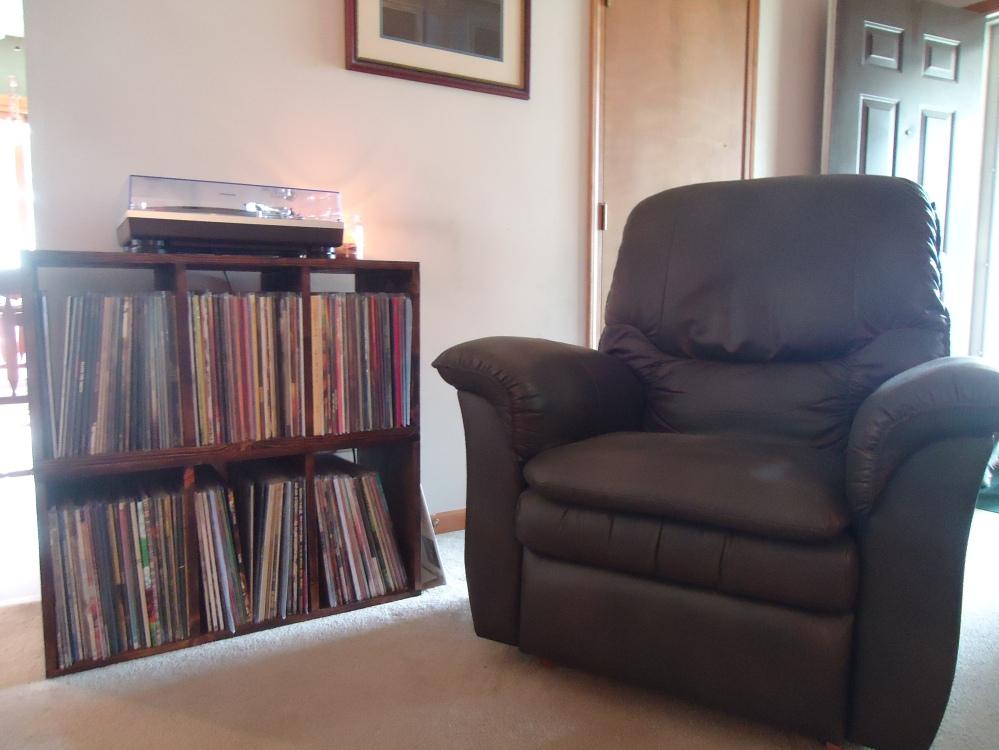 My vinyl nook