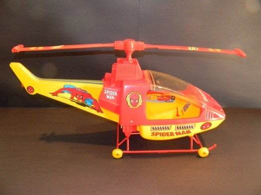 spiderman helicopter