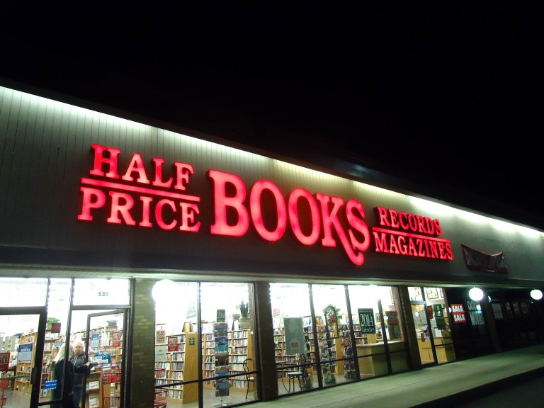 Books...and half price they say.