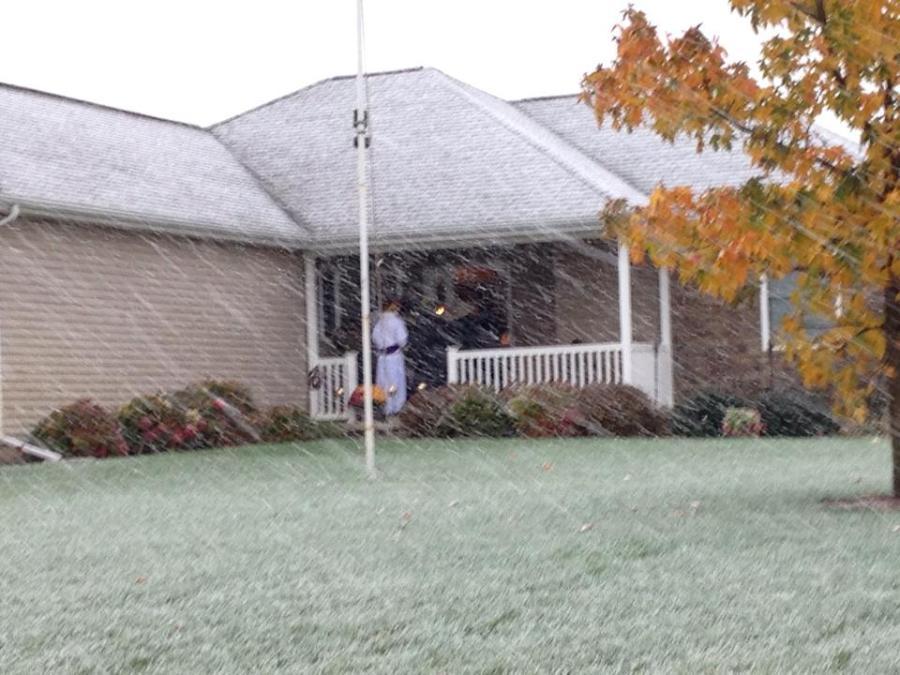 Snowy spooktacular.