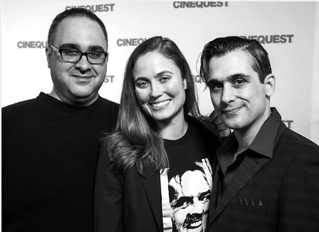 10 CINEQUEST red carpet Kelly Sebastian George Nicolaidis James Anthony Tropeano III Forever Into Space Greg W. Locke