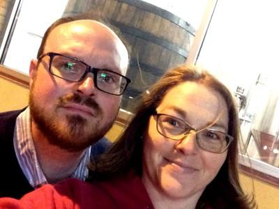 Brewery Selfie.