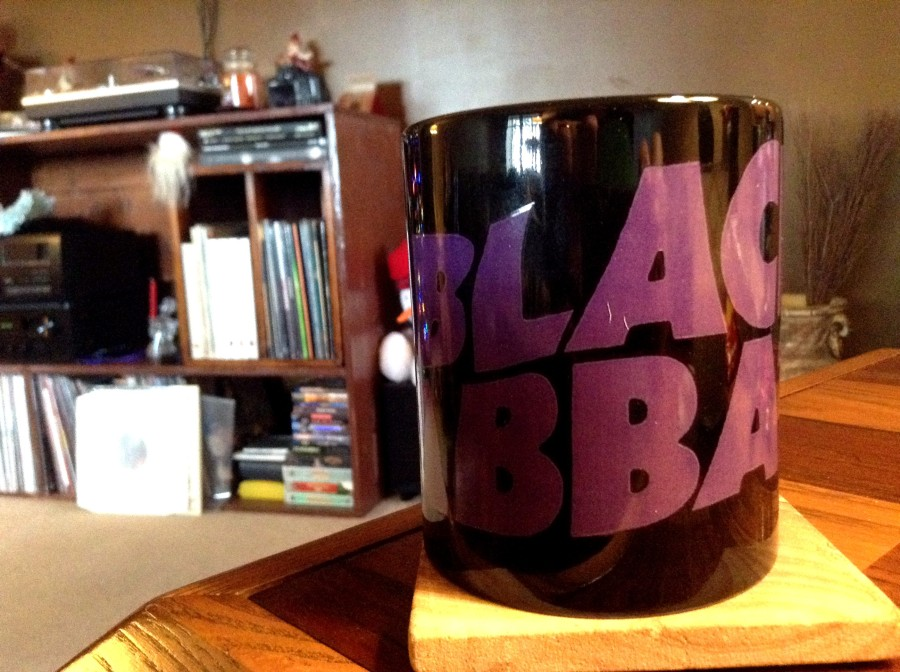 The only way to drink coffee...black.