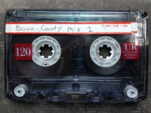A tape mix from 2011 for the family trip to Brown County, Indiana.